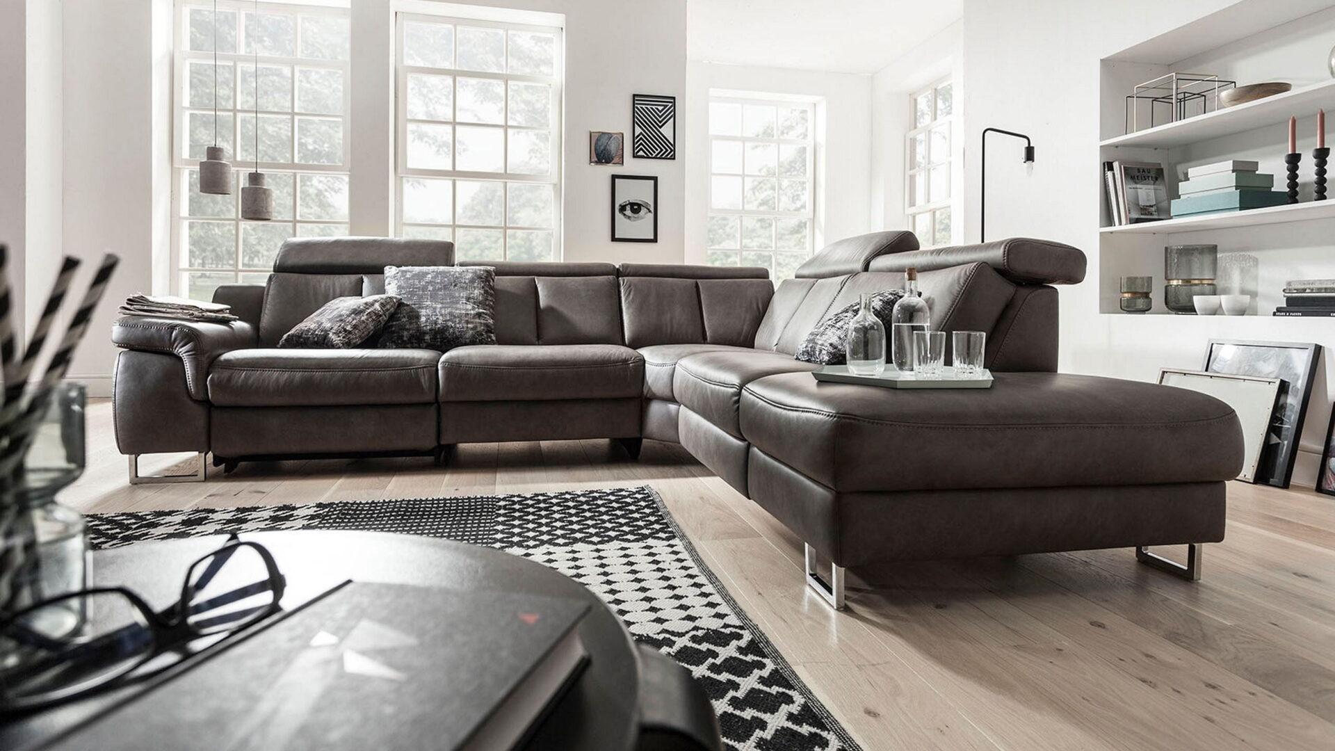 Interliving Sofa 4050 braun
