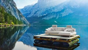 ADA Premium Sofa beige