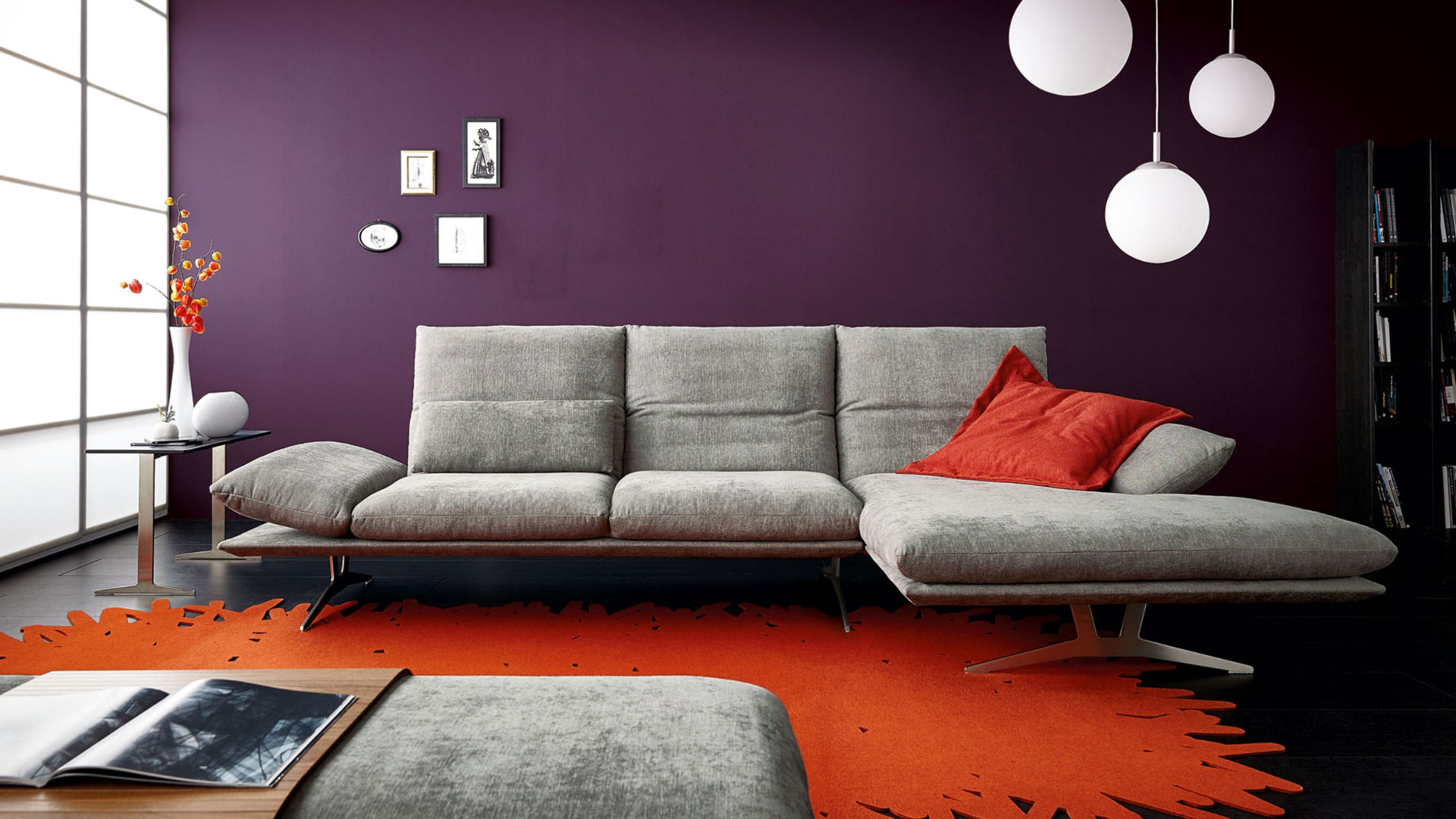 koinor francis sofa grau