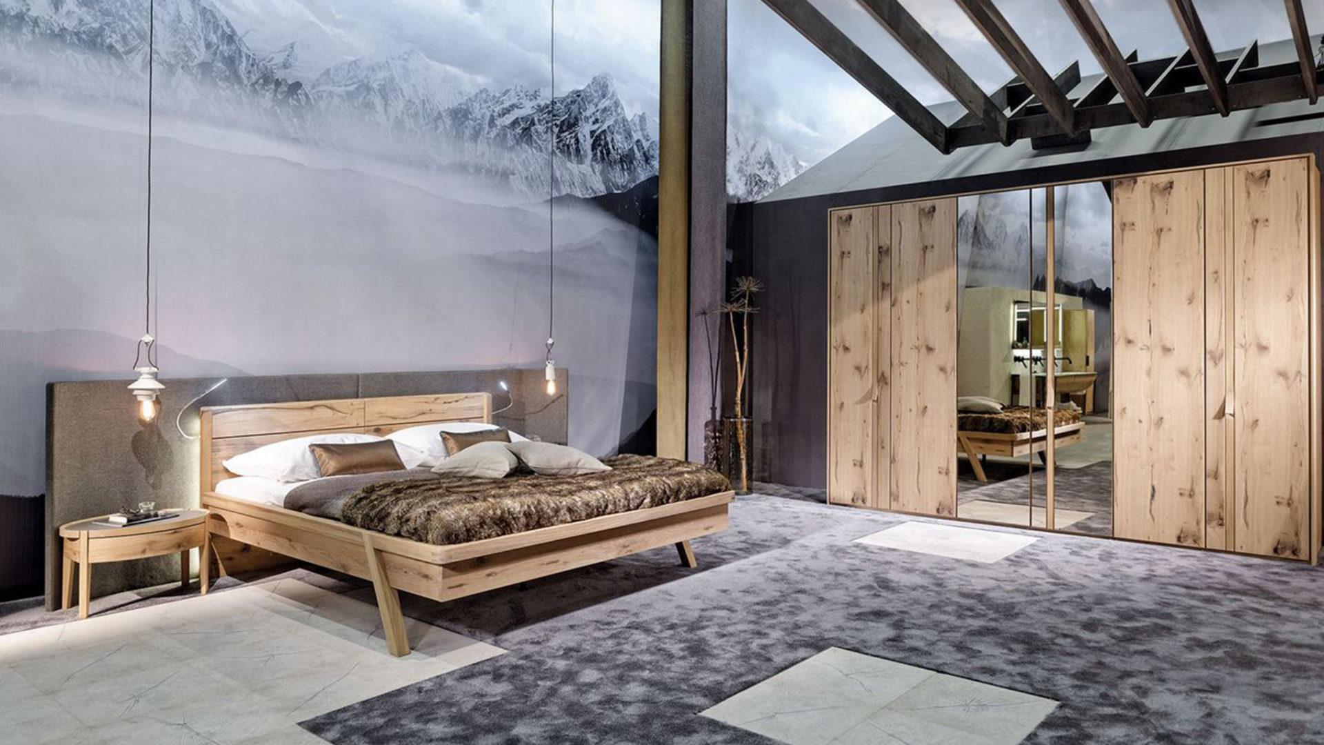 voglauer vaganto schlafzimmer aus massivholz