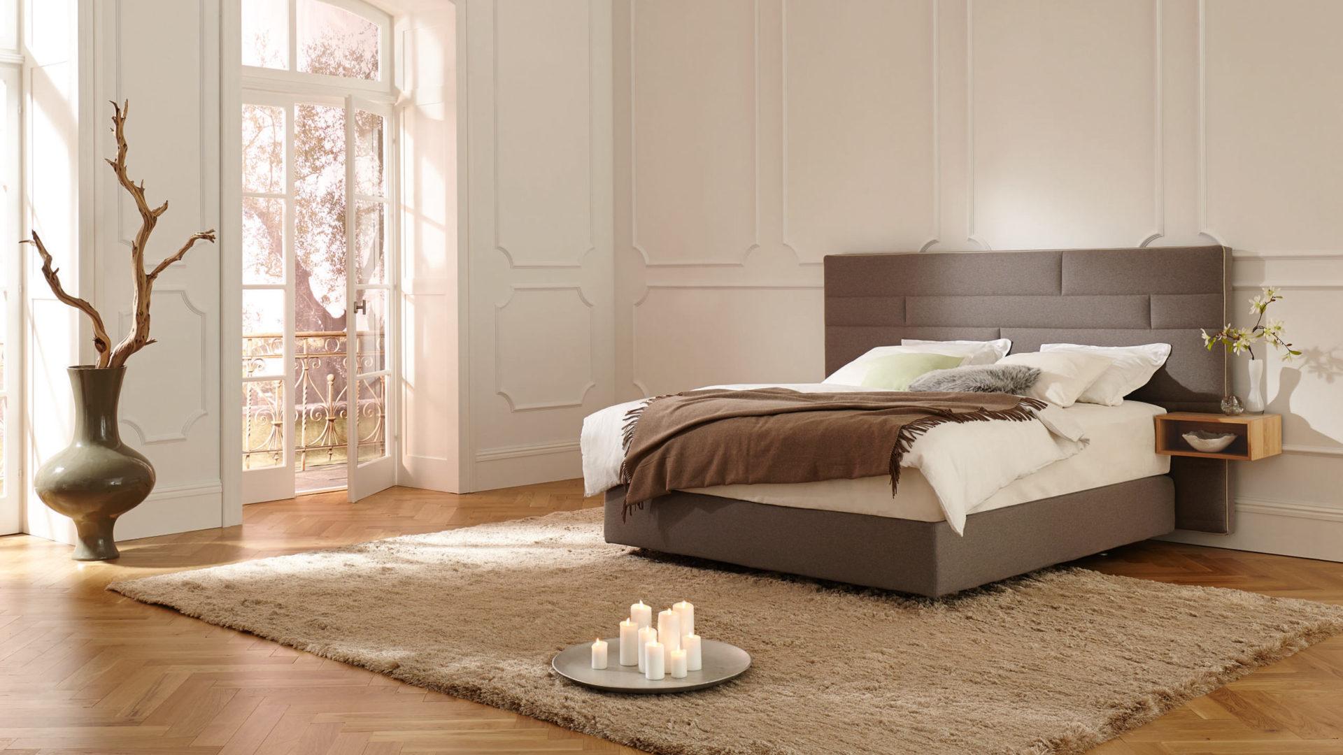 Hülsta Bett mit Deluxe Matratze